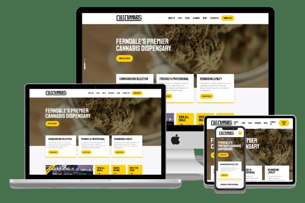 Cannabis Dispensary Website Seattle