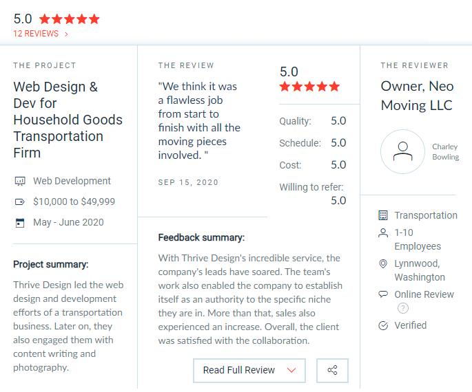 clutch best web designers seattle