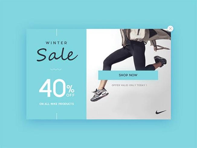 winter sale 40% off shop now lightbox