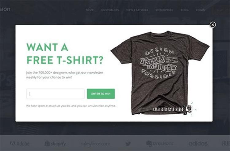 tee shirt free lightbox