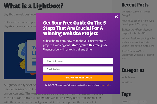 what is a lightbox