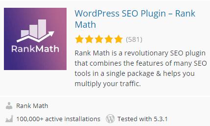rank math seo sitemap plugin