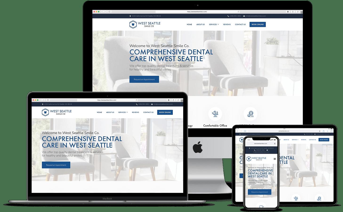 seattle dentist website