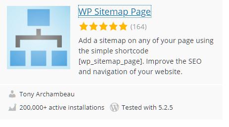 WP Sitemap Plugin